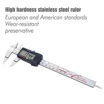 Accurate Measurement Of Digital Calipers 0-150mm 0-200mm 0-300mm Stainless Steel Sheet Measuring Tool Industrial Calipers