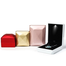 Jewelry Box Ring Pendant Necklace Storage Gifts Case Packaging Display Organizer Jewerly Storage Box