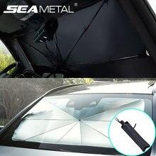 Auto Sonnenschutz Schutz Sonnenschirm Auto Frontscheibe Sonnenschutz Innen Deckt Auto UV-Schutz Windschutzscheibe Automobil Zubehör
