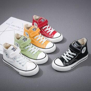 Zapatos de lona para niños y niñas, zapatillas de deporte informales de...