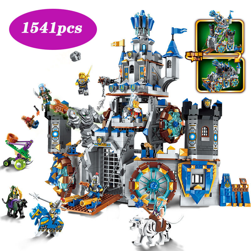 Glory <font><b>Castle</b></font> Knights The Battle Bunker Compatible with <font><b>legoinglys</b></font> 70317 building block brick 9 <font><b>minifigured</b></font> toys for children image