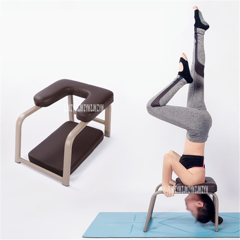 Gym Handstand Stool Bench Yoga Inverted Upside Chair Yoga Assisted Stool Inversion Machine Indoor Yoga Fitness Chair Equipment