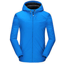 Outdoor Softshell-jacke Winddicht Outdoor Jacken Mit Kapuze Berg Wandern Camping Sport Regen Mantel Outwear(China)