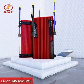 Li-ion de 3,7 V 14S BMS 48V 80A 100A 120A 150A PCM 18650 Placa de protección de batería equilibrado de litio de panel solar de la batería