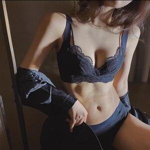 Женский бесшовный бюстгальтер, кружевное женское нижнее белье, женское нижнее белье, хит продаж, дышащее летнее сексуальное нижнее белье и одежда для сна Бюстгальтеры      АлиЭкспресс