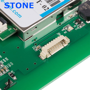 Image 4 - 7 אינץ צג LCD הסידורי מודול עם תכנית + מגע מסך עבור ציוד בקרת פנל STVC070WT 01