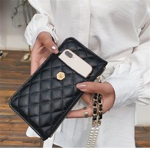Hot Sale 2019 NEW wallet pearl hanging neck chain mobile phone bag Crossbody bag кошелек женский purse кошелек визитница(China)