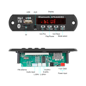 Image 2 - AIYIMA 15Wx2 Bluetooth Amplifier Board MP3 Decoder Board Bluetooth 5.0 Receiver WAV APE FLAC Audio Decoding USB TF FM AUX