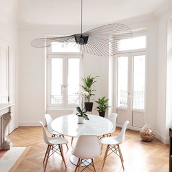 De suspensión LED brillo colgar moderno vértigo lámpara de fibra de vidrio/poliuretano colgante comedor Luz de Vida lámparas de habitación Bar Café habitación