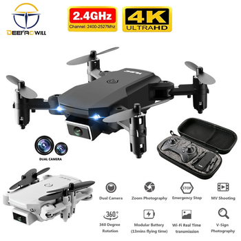 2020 new mini RC drone 4K HD camera WiFi Fpv air pressure altitude maintenance 15 minutes battery life foldable Quadcopter toy Consumer Electronics