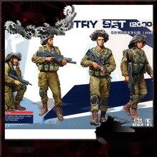 1/35 Die-cast Resin Soldier Model IDF Infantry IDF Infantry Regiment Hs-004 Model Assembly Kit Free Shipping