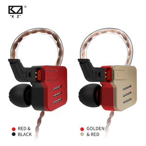 Image 4 - KZ BA10 Headset Balanced Armature Driver 5BA HIFI Bass Earbuds In Ear Monitor Earphone Sport Noise Cancelling Metal Headphones