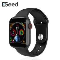 ESEED W34 smart uhr 44mm uhr EKG Herz Rate Monito Smartwatch männer für appele samsung xiaomi huawei uhr PK b57 A1