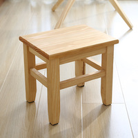 Solid wood shoes stool stool children adult stool living room home small bench sofa coffee table chair slip WF7271124