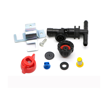 Plastic Flat Spray Nozzles for Boom Sprayer Nozzle 14MM Intubation Nozzle with 25MM Clamp Boom Sprayer Anti-drip Boom Nozzle