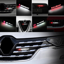 1 шт., автомобильная Хромированная передняя решетсветильник для капота Audis TT A4 B8 A3 8P B6 A6 C7 C6 B7 8V Q5 Q7 C5 A5 B5 A7 A1 B9 Q3 8I S6 S8