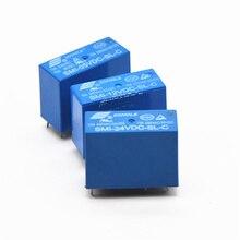 цена на Power Relays SMI-05VDC-SL-C SMI-12VDC-SL-C SMI-24VDC-SL-C 5V 12V 24V 10A 5PIN Relay