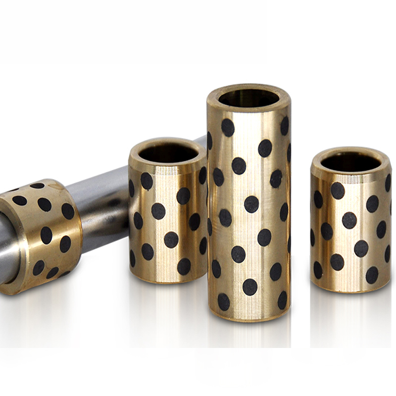 Graphite Lubricating Brass Bearing Bushing Sleeve8*12*8 6*10*8 10*14*8 12*18*10