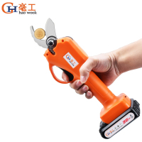36V 600W 2000mAh Cordless Electric Rechargeable Pruning Shears Secateur Branch Cutter Electric Fruit Pruning Tool Garden Pruner