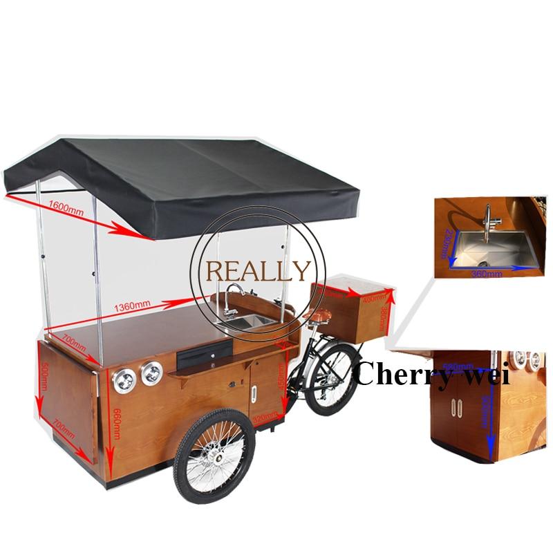 500w electric /pedal Mobile coffee bike/coffee bicycle/coffee bike for sale Coffee bike dedicated mobile coffee kiosk for sale|Food Processors| |  - title=