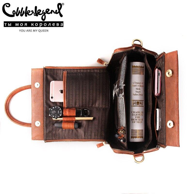 Cobbler Legend New Tote Bag Designer Handbag Faux Leather Luxury Multifunctional Shoulder Bag Crossbody For Women Large Capacity