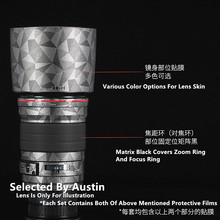 Lens Decal Skin Wrap Film Voor Canon EF135 F2 Protector Anti Kras Jas Cover Case Sticker