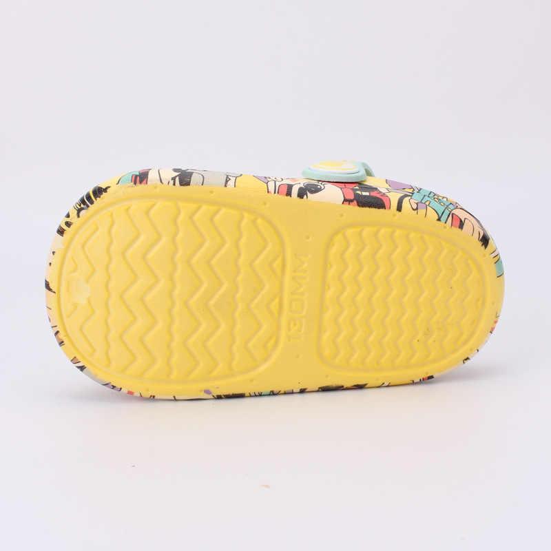 Kocotree สาวฤดูร้อนเด็กรองเท้าแตะในร่มสุนัขการ์ตูนเด็กสบายแฟชั่นรองเท้าแตะ Anti-SLIP รองเท้าแตะชายหาด