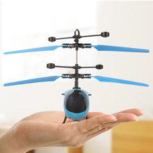 Mini Drone RC Helicopter Infraed Suspension Induction Electronic Model Funny Air