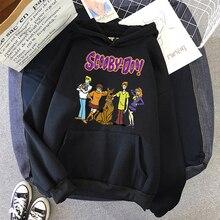 SCOOBY-DOO Winter Women Hoody Sweatshirt
