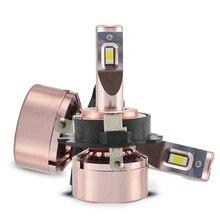 2Pcs Car LED Headllight Kit Bulb 12V 40W Super Bright Lamp 6000K 3200LM Fog Light For Golf 7