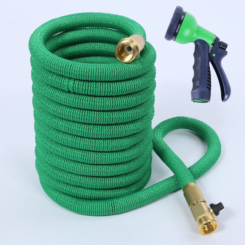75FT New Style High Temperature Wear-Resistant Natural Latex Triple Telescopic Pipe Europe And America Copper Garden Irrigating