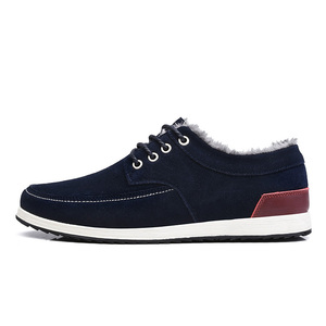 Image 2 - SUROM Mens Leather Casual Shoes Moccasins Men Loafers Luxury Brand Winter New Fashion Sneakers Male Boat Shoes Suede Krasovki
