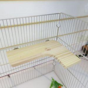 Pet-Charon деревянная платформа для мыши, шиншиллы, крысы, песчалки и карликового хомяка PXPC