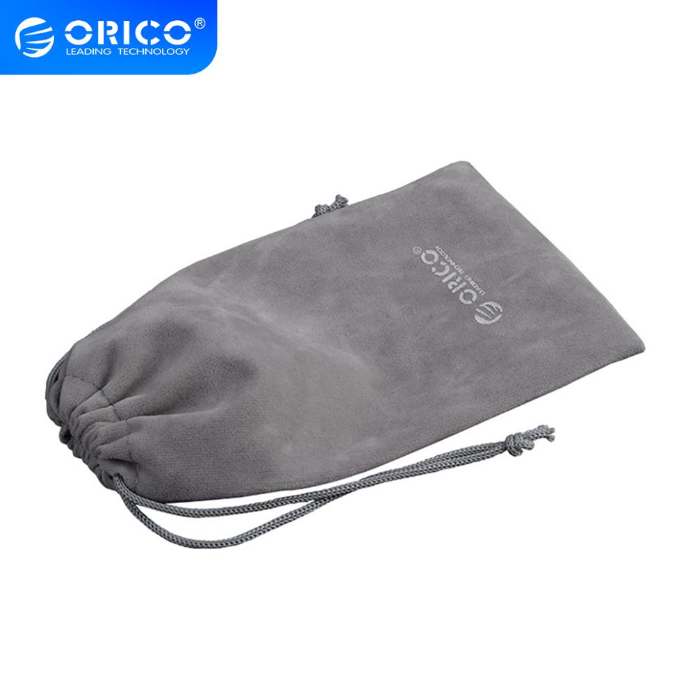 ORICO Soft Storage Bag For Power Bank USB Charger Soft Pouch Case For Powerbank External Battery Mobile