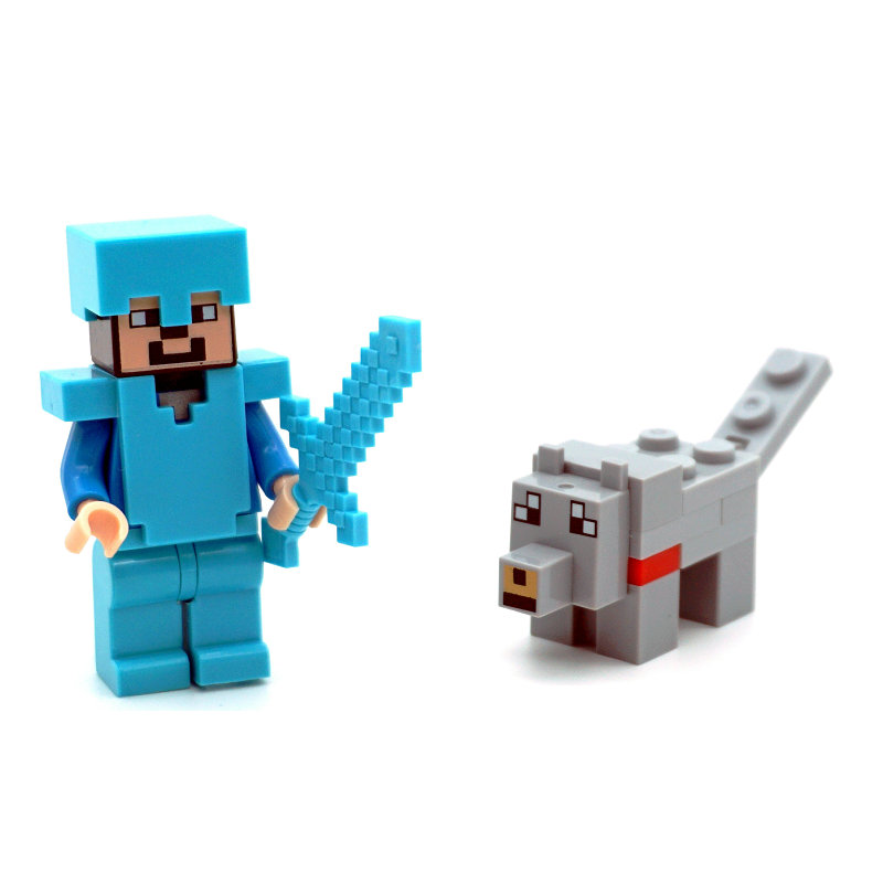 lego minecraft minifigures toys (13)