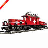 1130 juguetes de bloques Uds. 21011 variedad de trenes de Hobby compatibles con legogo tren 10183 Esmeralda noche juguetes para niños