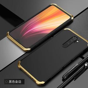 Image 5 - Obudowa do Xiaomi Redmi Note 8 Pro aluminiowa metalowa rama twarda plastikowa tylna obudowa do Xiaomi Redmi Note 8 Pro Fundas doskonałe uczucie