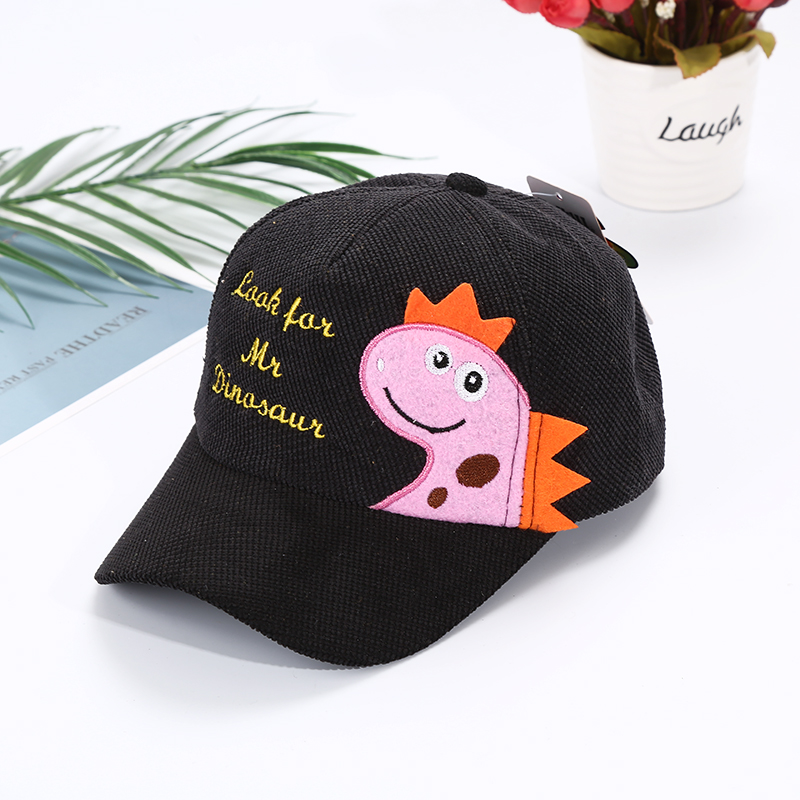 H49f91936b55144f6b6f096fff256ad58E - Spring Autumn Baby Baseball Cap Cartoon Dinosaur Baby Boys Caps Fashion Toddler Infant Hat Children Kids Baseball Cap