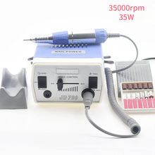 35W 35000RPM Electric Nail Drill Machine Manicure Pedicure Files Tools Kit Nail Polisher Grinding Glazing Machine For Gel Polish