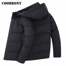 COODRONY Brand Duck Down Jacket Men Fashion Casual Hooded Coat Men Clothes 2019 Winter Thick Warm Jackets Outerwear Coats 98033 men fashion brand man coat thick coats jackets warm men s outdoors hooded overcoat plus size