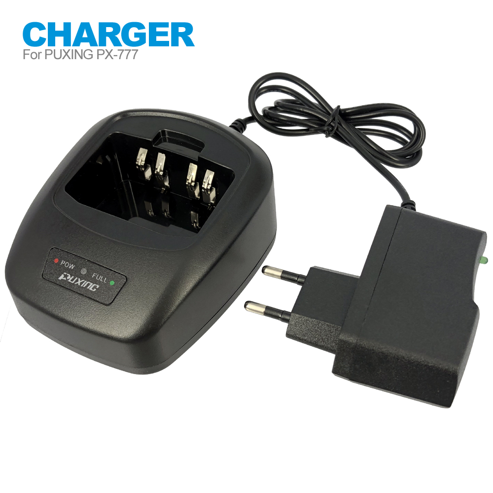 Desktop Charger AC Adapter For Puxing PX-888K PX-UV973 PX-777 PX-328 PX-728 PX-888 VEV-3288S Walkie Talkie Two Way Radio EU/US