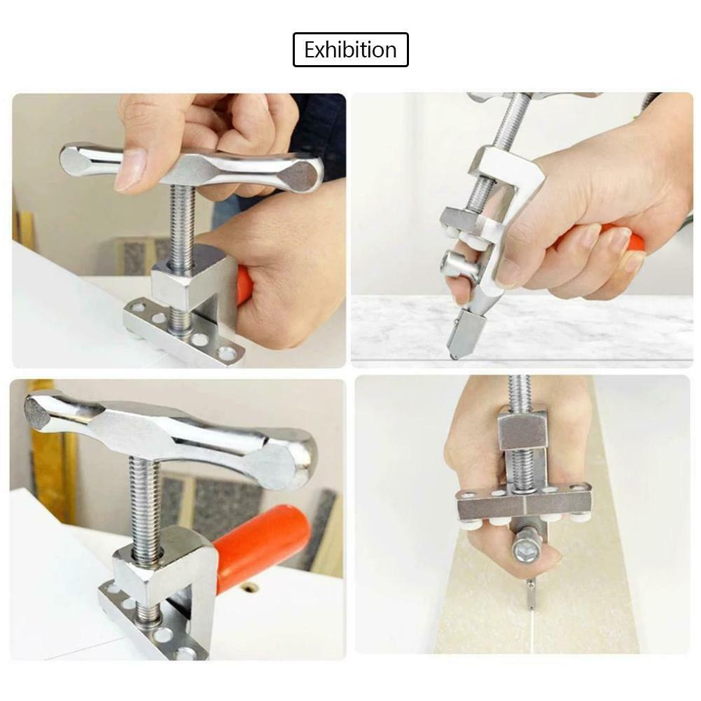 Professional Metal Easy Glide Glass Tiles Marble Cutter Cutter Hand Diamond Household Home Cutting Tool Glass P6A4