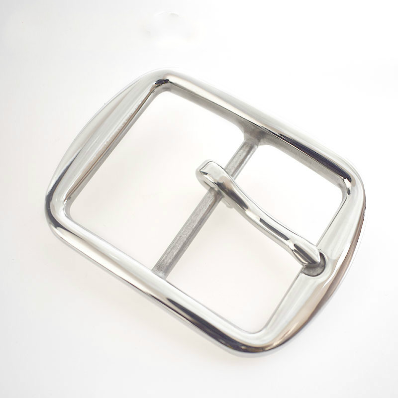 Deepeel 40mm*52mm Stainless Steel Men Pin Belt Buckles For 39mm Wide Belt Business Trousers Belt Buckles DIY Leather Craft F1-36
