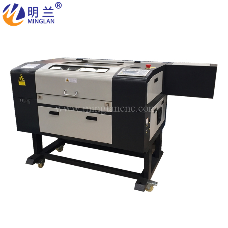 3d Crystal Glass Laser Engraving Machine Wood CO2 Laser Engraver With Ruida Controller