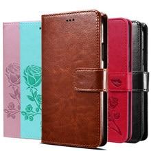 Protetor de tela caso da aleta para oukitel c15 c17 pro suporte capa em oukitel c21 c19 caso capa carteira de couro saco de livro