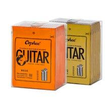 Cuerdas de guitarra Orphee serie NX de nailon cuerda de guitarra acústica clásica alambre plateado duro Normal herramientas de guitarra piezas