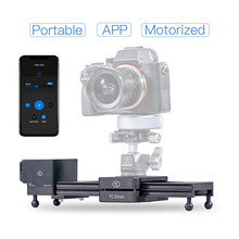YC Onion Aluminum Motorized Camera Slider App Bluetooth Control Slider Camera for GoPro Smart Phone Gimbal DSLR Camera
