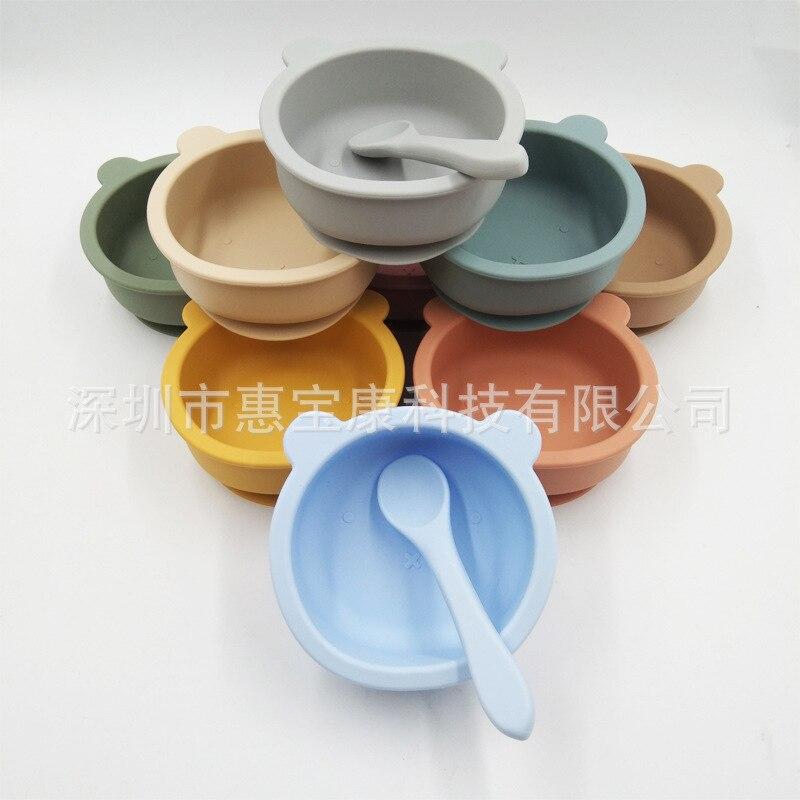 alimentação de bebês, utensílios de mesa complementares, caixa colorida para alimentos