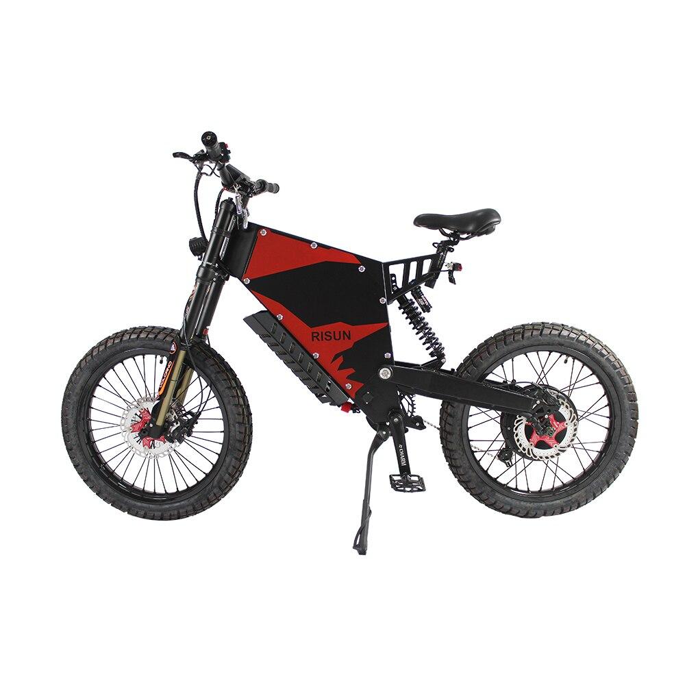 Ue dever livre poderoso 48v 60v 72v 3000-5000w bicicleta elétrica FC-1 onda senoidal sabvot controlador 100a mountain ebike 35ah exibição