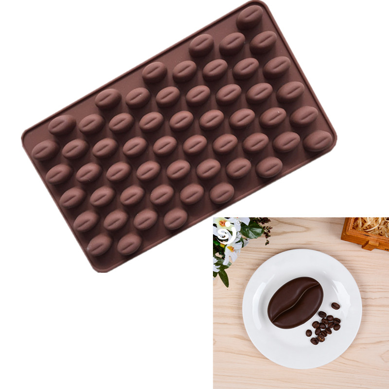 Silicone Soap Molds Cavity Coffee Shape Silicone Soap Mould Recycle Handmade For Soap Making Non-stick Molds Chocolate Molds